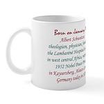 Mug: Albert Schweitzer, theologian, physician, 195