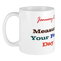 Mug: Measure Your Feet Day