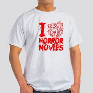 I love horror movies Light T-Shirt