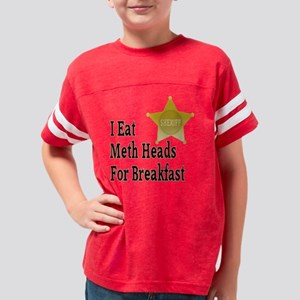 badgegoldmethheads Youth Football Shirt