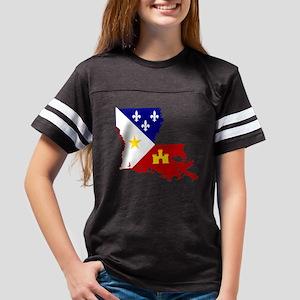 Acadiana State of Louisiana Youth Football Shirt