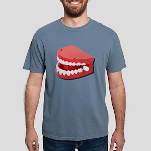 FakeChatteringTeeth08131 Mens Comfort Colors Shirt