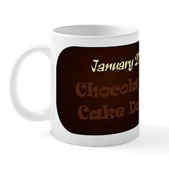 Mug: Chocolate Cake Day
