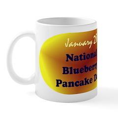 Mug: Blueberry Pancake Day