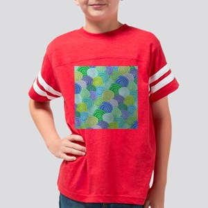 Abstract Circles  Youth Football Shirt