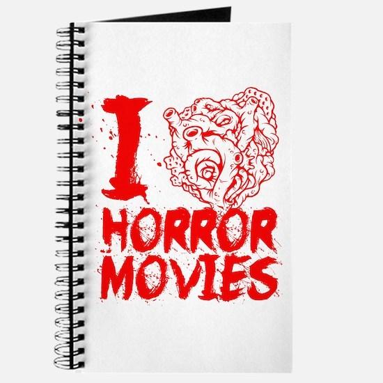 I love horror movies Journal