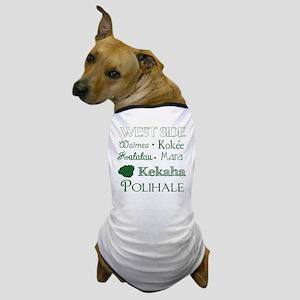 West Side Kauai Subway Art Dog T-Shirt