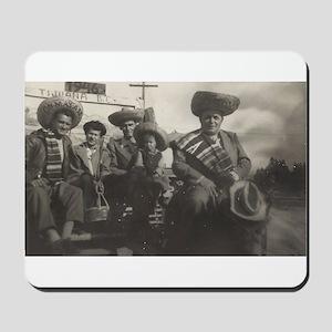 Mexican Gentlemen Mousepad
