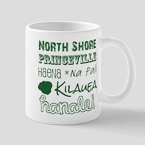 North Shore Kauai Subway Art Mugs