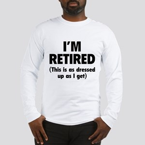I'm retired- this is as dressed up as I get Long S