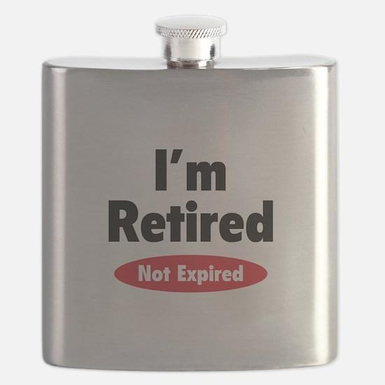 I'm retired- not expired Flask