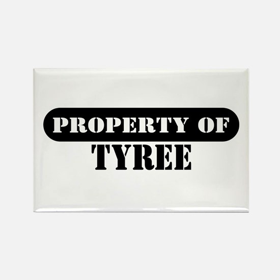 Property of Tyree Rectangle Magnet