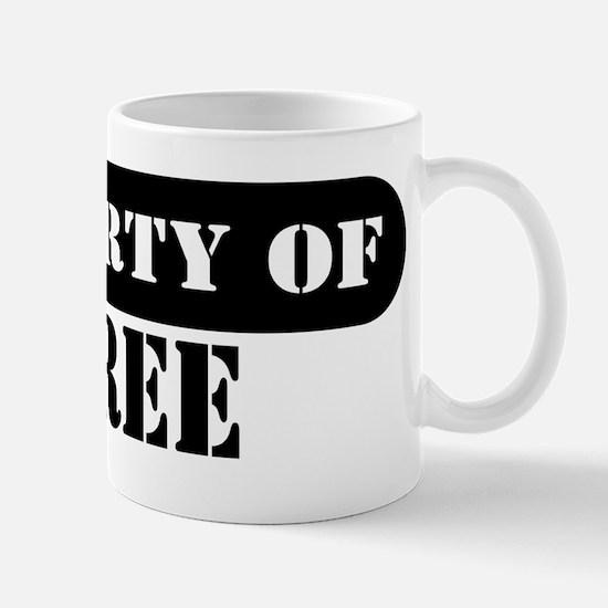 Property of Tyree Mug