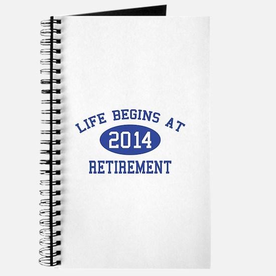 Life begins at 2014 Retirement Journal