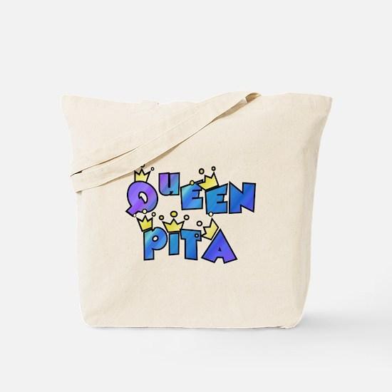 queen pita Tote Bag