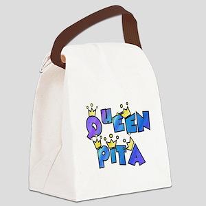 queen pita Canvas Lunch Bag