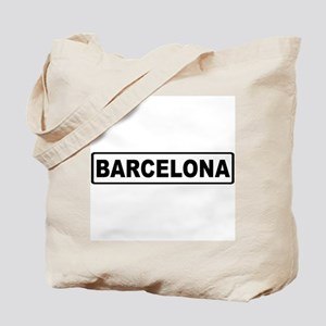 Roadmarker Barcelona - Spain Tote Bag