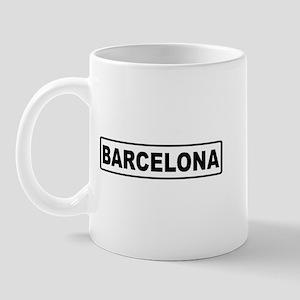 Roadmarker Barcelona - Spain Mug