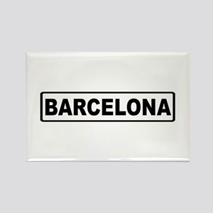 Roadmarker Barcelona - Spain Rectangle Magnet