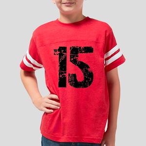 15Back Youth Football Shirt