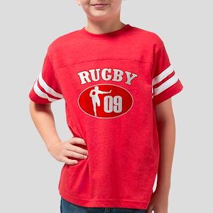 Rugby09Black copy Youth Football Shirt