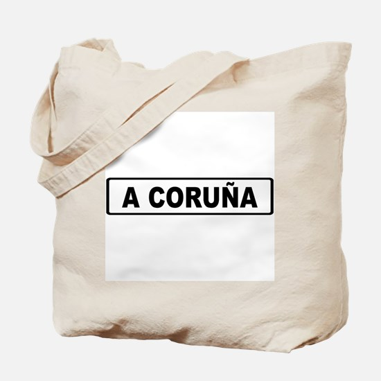 Roadmarker La Coruña - Spain Tote Bag