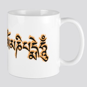 Om Mani Padme Hum Burning Mugs