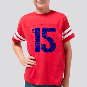 3-15Back Youth Football Shirt