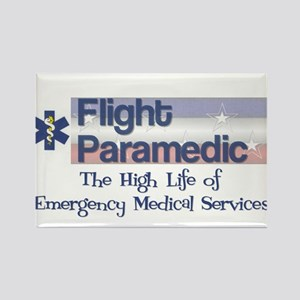 Flight Paramedic Rectangle Magnet