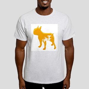 ABTR (orange) Ash Grey T-Shirt