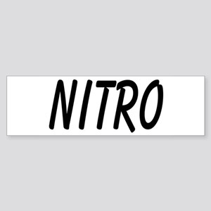 Nitro Bumper Sticker