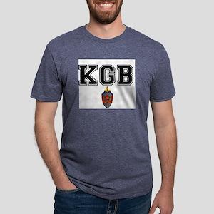 KGB Mens Tri-blend T-Shirt