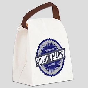Squaw Valley Ski Resort California Navy Blue Canva
