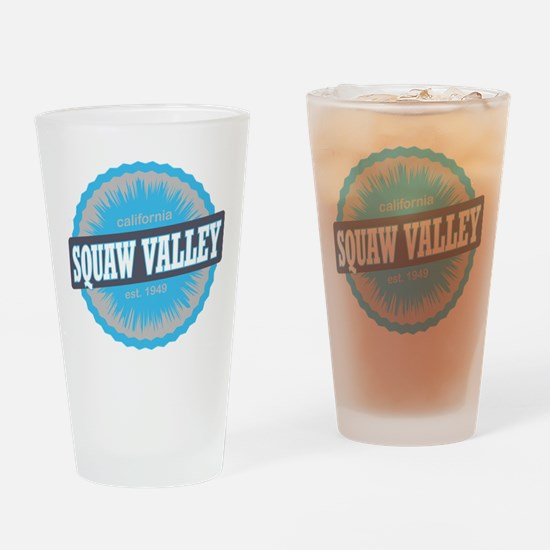 Squaw Valley Ski Resort California Sky Blue Drinki