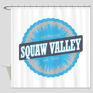 Squaw Valley Ski Resort California Sky Blue Shower