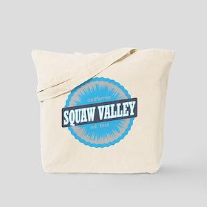 Squaw Valley Ski Resort California Sky Blue Tote B