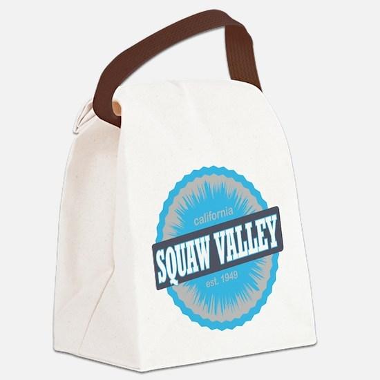Squaw Valley Ski Resort California Sky Blue Canvas