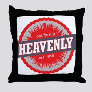 Heavenly Mountain Ski Resort California Red Throw