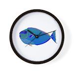 Bignose Unicornfish Wall Clock