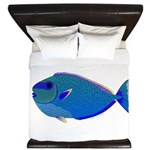 Bignose Unicornfish King Duvet