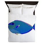 Bignose Unicornfish Queen Duvet