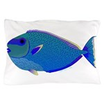 Bignose Unicornfish Pillow Case