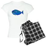 Bignose Unicornfish c Pajamas