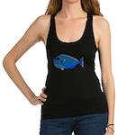 Bignose Unicornfish c Racerback Tank Top