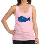 Bignose Unicornfish c Racerback Tank Top