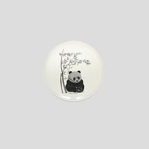 Little Panda Mini Button