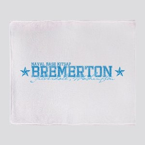 NBK Bremerton WA Throw Blanket