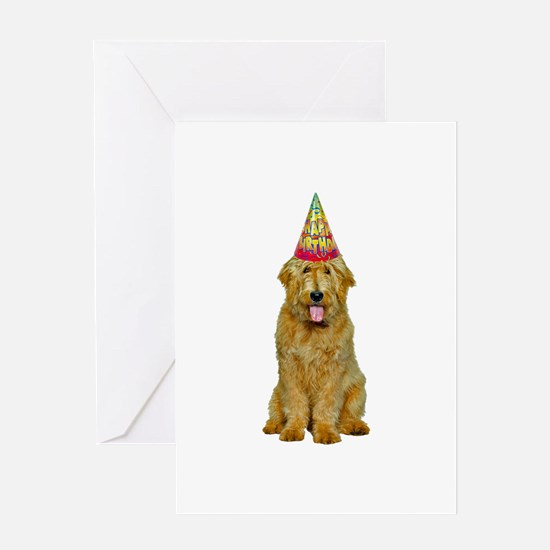 Goldendoodle Birthday Greeting Card