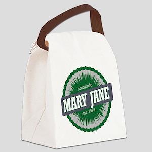 Mary Jane Ski Resort Colorado Green Canvas Lunch B