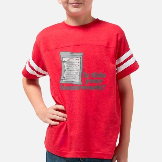 Homework3 Youth Football Shirt